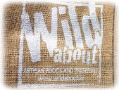 Wild about natural jute gift bag image