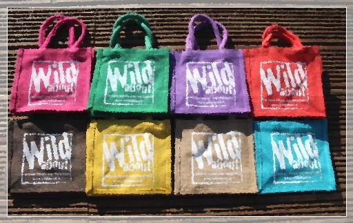 Wild about gift bags in assorted colours image