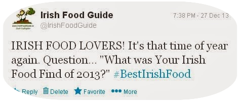 Tweet from Irish Food Guide #BestIrishFood