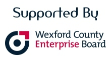 Supported by Wexford County Enterprise Board logo