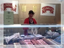 The Clonakilty Black Pudding stand at the Olympia, London BBC Good Food Show