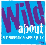 Wild about Elderberry & Apple Jelly label image