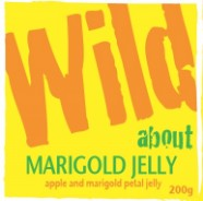 Wild about Marigold Jelly label image