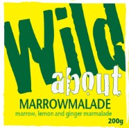 Wild about Marrowmalade label image