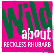 Wild about Reckless Rhubarb label image