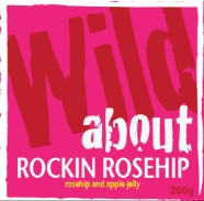 Wild about Rockin' Rosehip label image