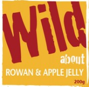 Wild about Rowan & Apple Jelly label image