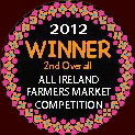 Wild about 2012 Winner 2nd Over all All Ireland Farmers Market Competition